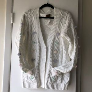 NWT chenille cardigan. Brand new pieces